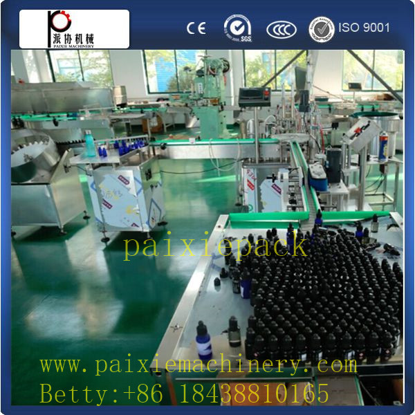 High precision peristaltic pump filling eyedrops e liquid e-cig filling machine for production line