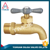 brass hose bibcock faucet high quality long alum handle with plating three way manual power with lock in TMOK