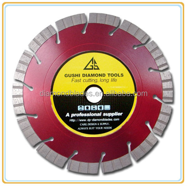 En 13236 Turbo Segmented Diamond Saw Blades For Cutting