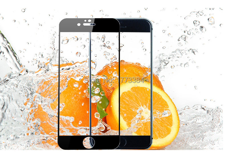 Glass Screen Protector 0.3MM 9H Hardness 2.5D Ultra-thin Design Tempered Glass Screen Protector for iPhone 6 5.5 Inch Screen