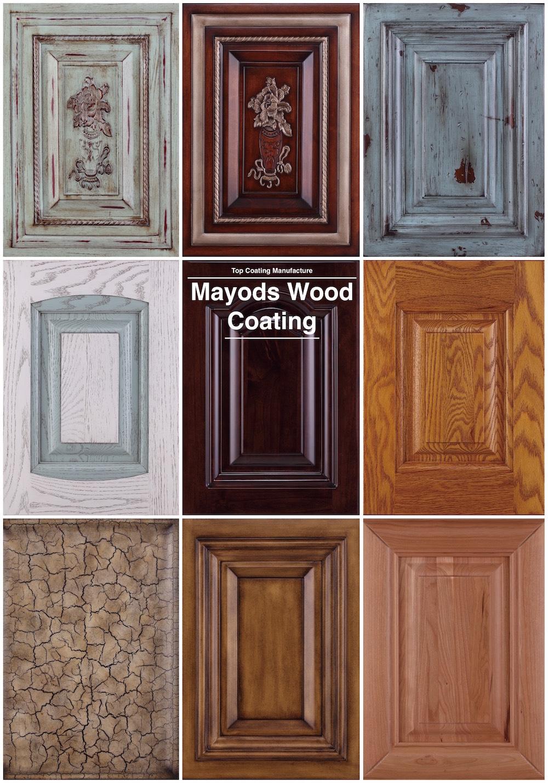 Maydos เป็นมิตรกับสิ่งแวดล้อม 1 K Nitrocellulose ยูรีเทนไม้ lacquer สเปรย์สี