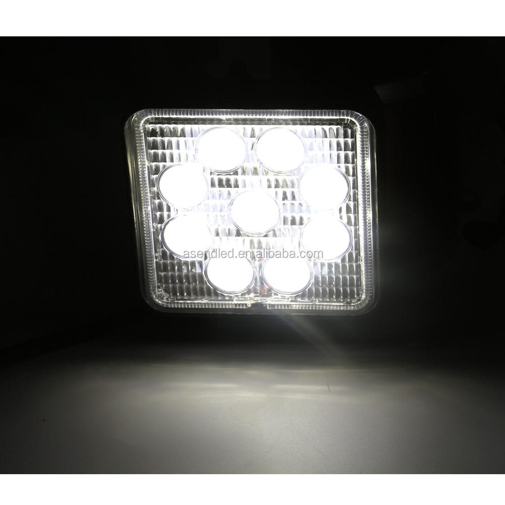 27w Led Auto Verlichting 12v Led Verlichting 3w Leds Werklamp Werk ...