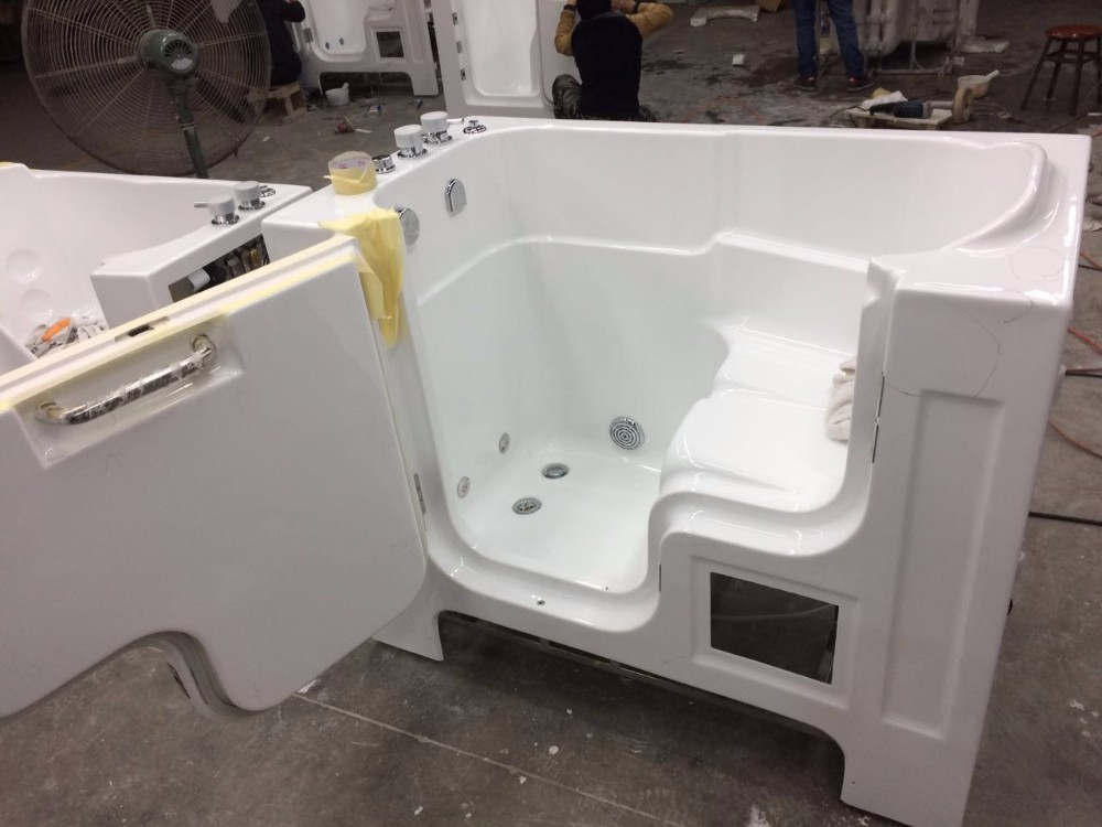 Acrylic Bathtub Walk In Tub Shower Combo Lowes Walk In
