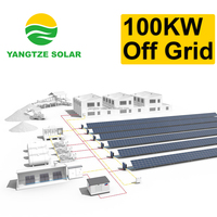 3 days backup 100kw solar pv power system