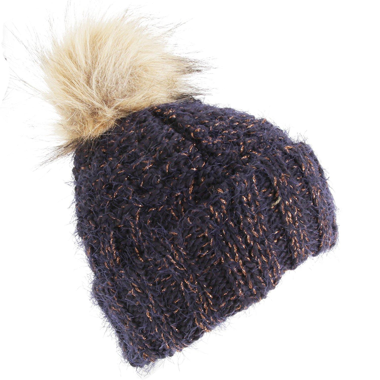 44115c7c567 Buy AMOS Womens Ladies Winter Faux Fur Furry Lined Soft Comfort Warm ...