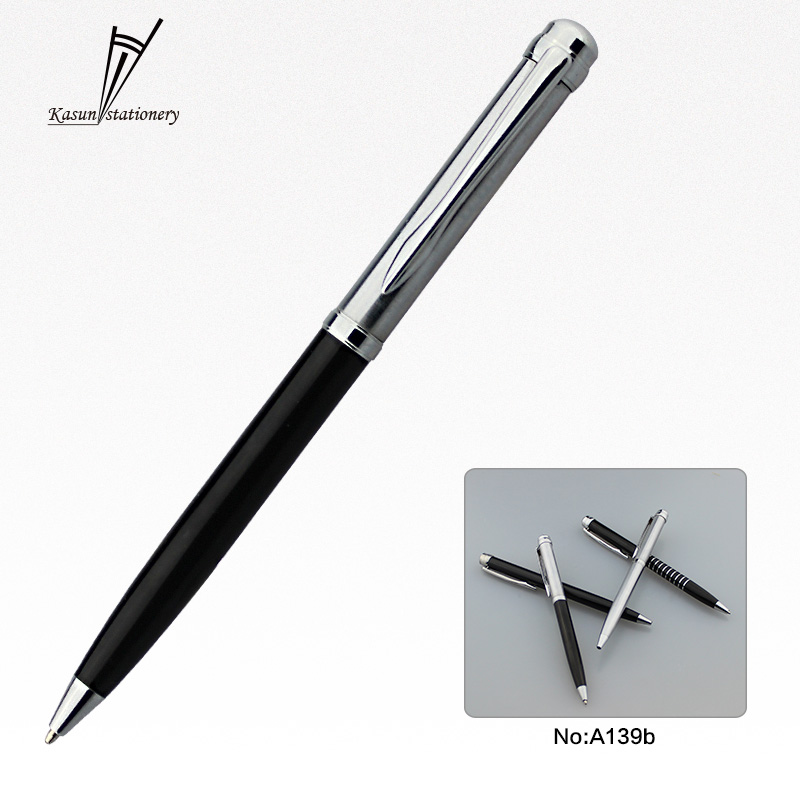 New design gift promotional metal ball pen with gift box