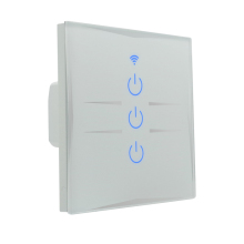 กันน้ำ touch panel สวิทช์ home automation alexa led smart wifi light switch