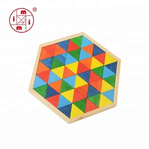 educational toy 3D colorful mosaic puzzle