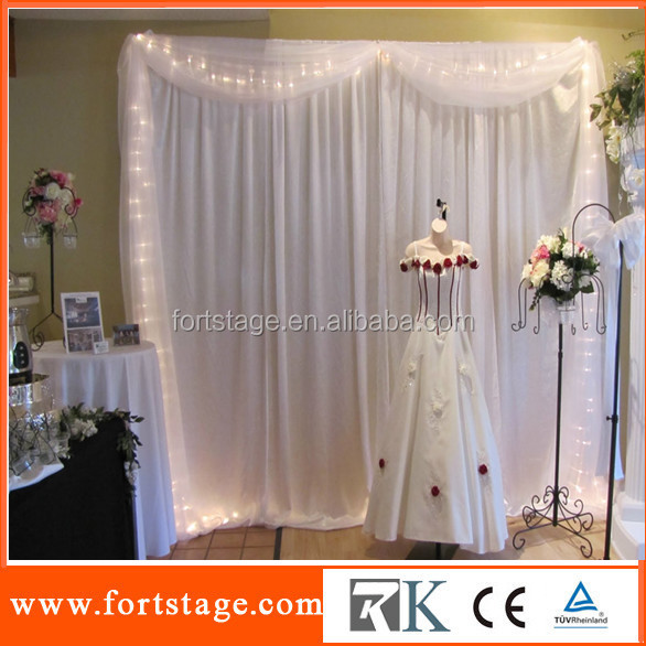 Wedding Backdrop StandBackground DrapeWhite Curtain And Drape