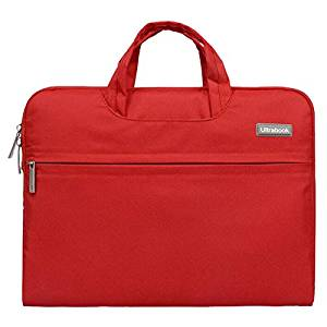 Notebook Bag for Macbook Air Pro - SODIAL(R) Fashion Universal Laptop Ultrabook Notebook Skin Bag &for Macbook Air Pro Sleeve Case (Red 15 inch)