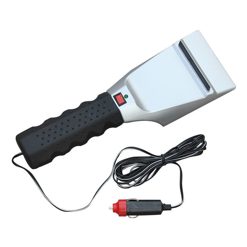 Car 12V Heated Auto Electric Windshield Ice Scraper Snow Melter Scoop Removal