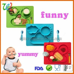 Wholesale Silicone Meal Mat