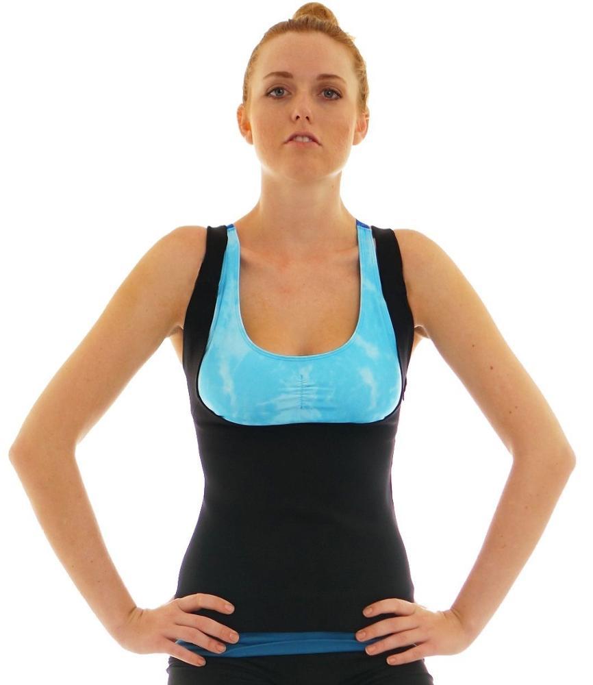 Warm Keeping Neoprene Super Stretch Fat Burning Body Shaper Vest Slim Shapewear Women