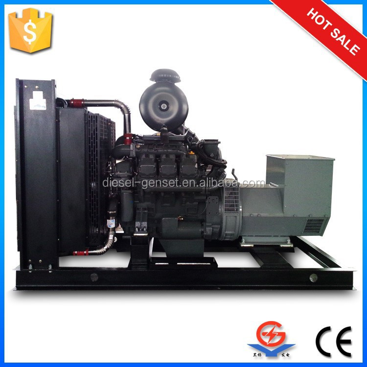 Deutz 24kw diesel generator set, specially for high temperature and cold dry area