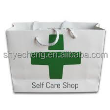high quality new design customized manufacturer of medicine paper bag wholesale