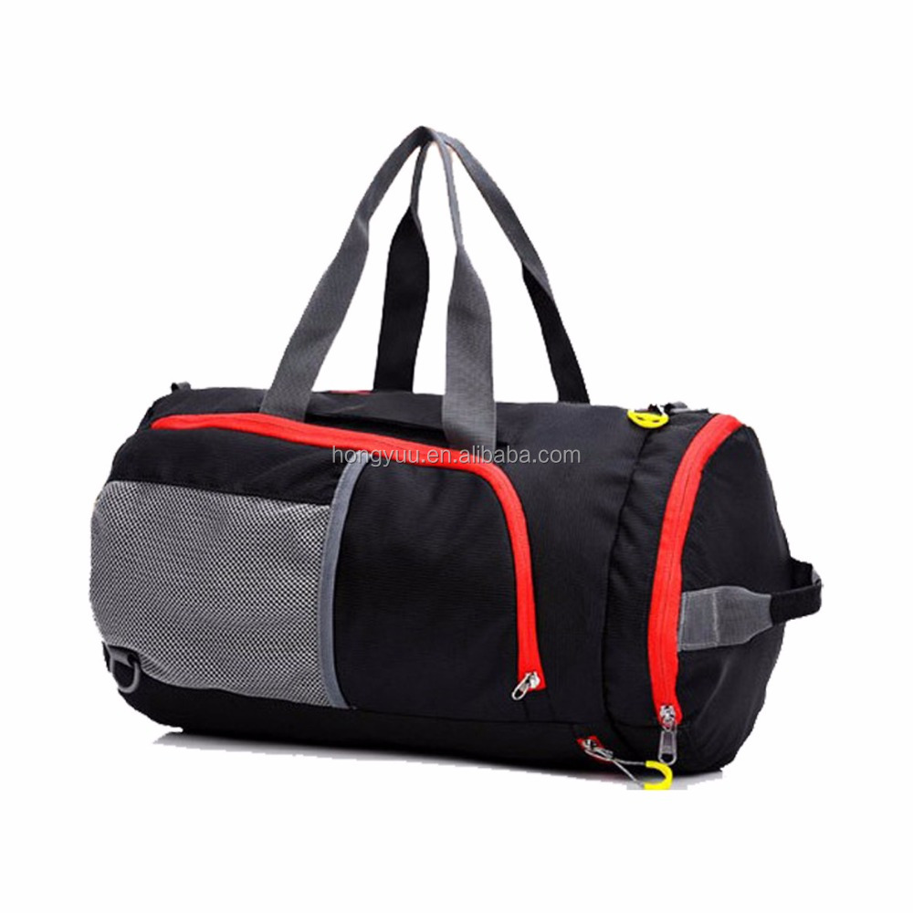 Fabric Gym Bag Sports Duffels Athletic Sport Shoulder Bag travel trolley bag