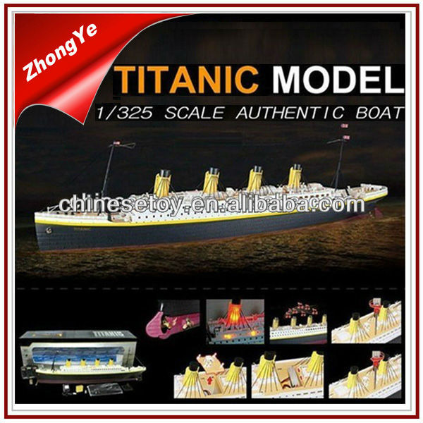 Hot Sale 1:325 Titanic Radio Control Ship Toy With Light Music Rc ...