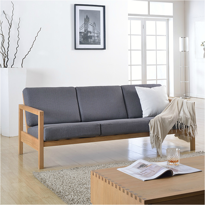 Japanese Style Living Room Furniture: Japanese Style Furniture/cotton And Linen/solid Oak Wood