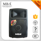 Professional outdoor musical card speaker with bluetooth/usb/sd/recording function/dj light