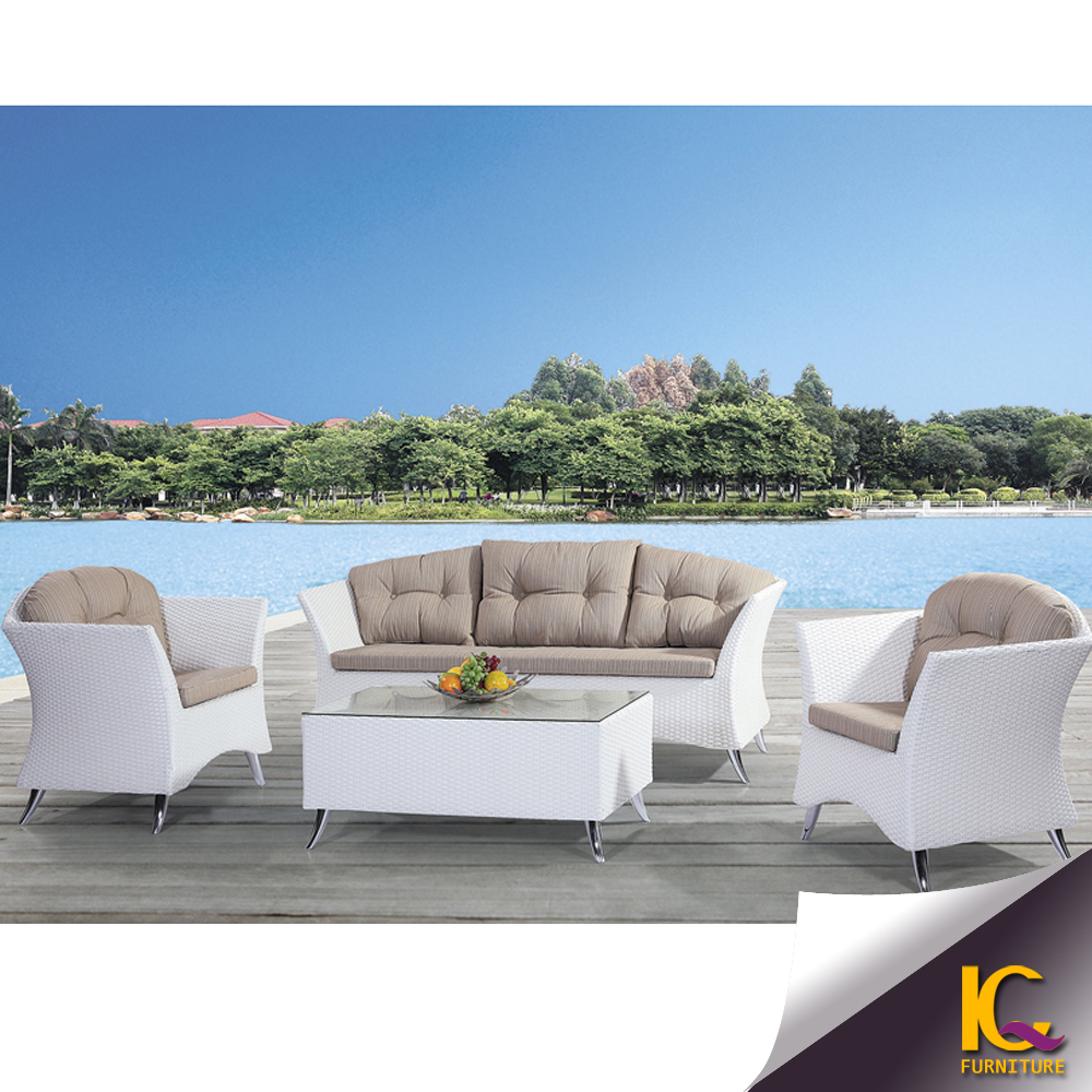 garden furniture modern villa cheap rattan sofa lounge furniture buy