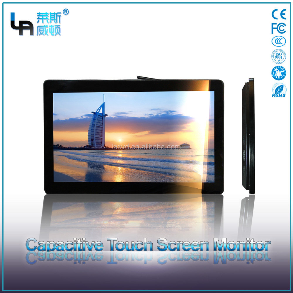 Guangzhou27 Inch surface capacitive monitor touch screen projected capacitive touch panel with sensitivity