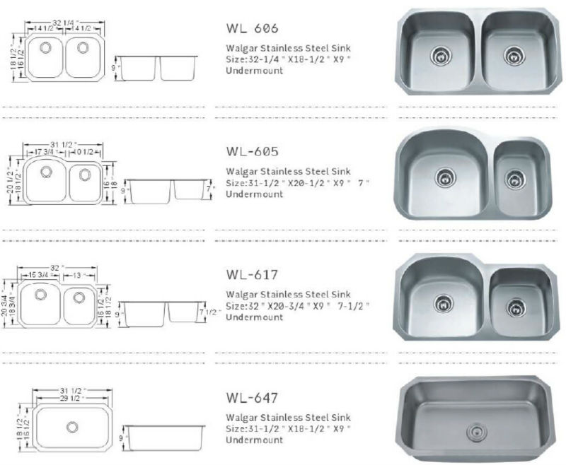 Dimensions Of A Small Kitchen Sink