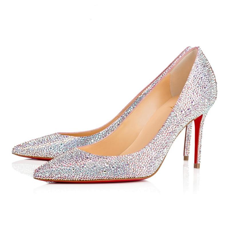 high wedding ZH737B Hot women fashion sale dinner High quality shoes heel crystal wOvOqXB7