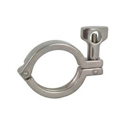 Stainless Steel Sanitary Heavy Duty Clamp for Pipeline Connection