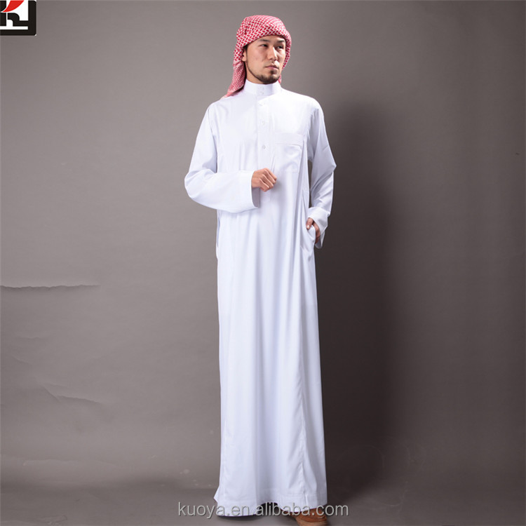 New Design Thobe /Jubba For Men Islamic Abaya High Fashion Arabic Abaya Designs 2017 Arabic Men Thobe