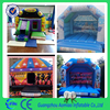 Commercial cheap bouncer inflatable trampoline/inflatable castle for sale