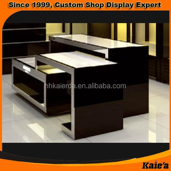 Modern Shop Counter Design For Garment Store