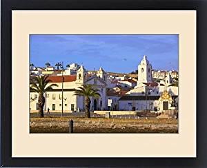 Framed Print of Lagos Old Town, Lagos, Western Algarve, Algarve, Portugal, Europe