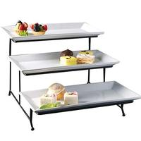 3 -tier Store Kitchen Cake Stand Fruit Vegetable Display Rack