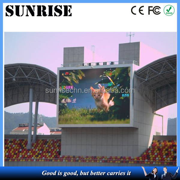 waterproof jumbo stage high quality video P10,P12P16,P20,P25advertisingreal estate agent window led display module