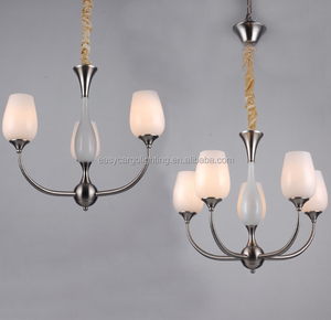 Zhongshan guzhen factory Modern nickel chandelier,CE/UL approval decorative chandelier lighting (FX20477-5p)