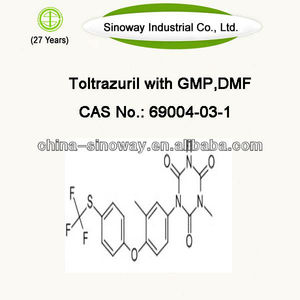 GMP / DMF cas 69004-03-1 Toltrazuril powder