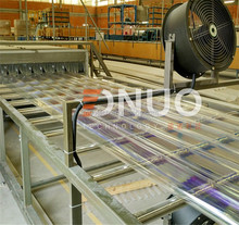 Fiberglass Fiber glass plastic color coated transparent roofing sheet making machine