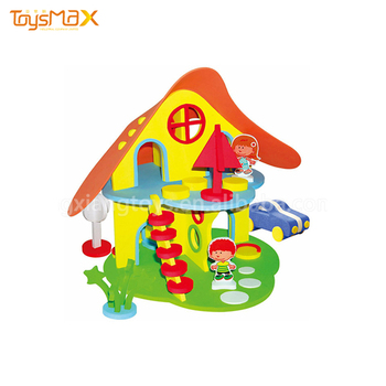 Hot Sale Educational DIY House Building Foam Toys