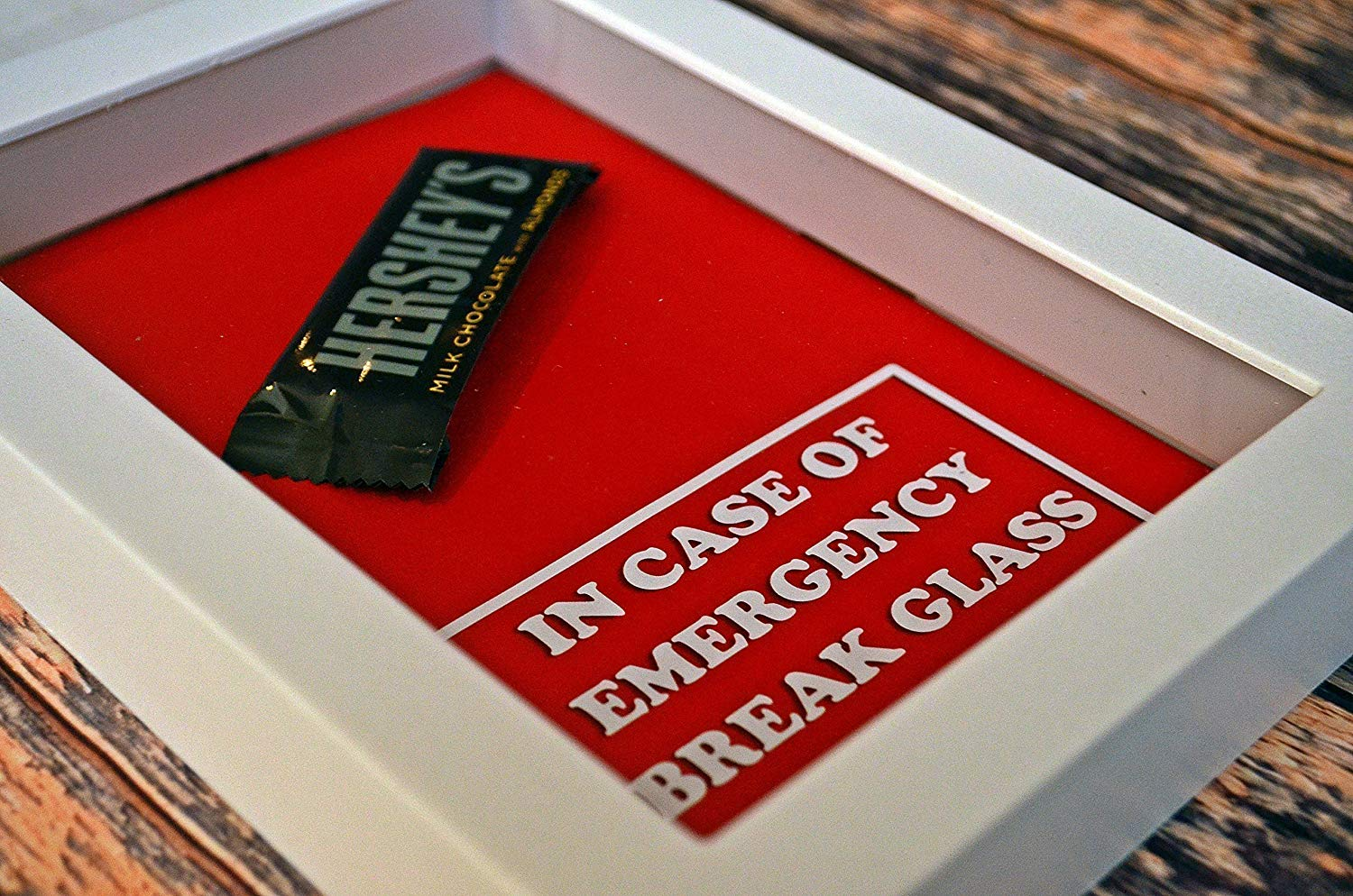Valentine's Day Gift | Gift for Valentines | Chocolate Bar - In Case of Emergency Break Glass | Gift for Chocolate Lover | Gag Gifts for Boyfriend, Girlfriend | Gift for BFF | Gift for Mom | BFF Gift