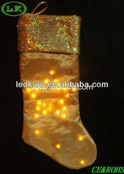 battery led light up christmas socks - Light Up Christmas Socks