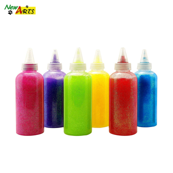 Decoration Children Colored Flashing Dry Fast Art Craft Liquid Glitter Glue