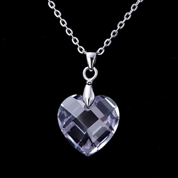 Tanishq Diamond Designs Style Glass Sterling Silver Heart Necklace Cage  Pendants Wholesale - Buy Tanishq Diamond Necklace,Sterling Silver Heart