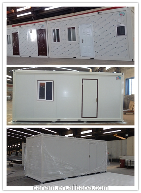 Economical flat pack prefabricated container homes house