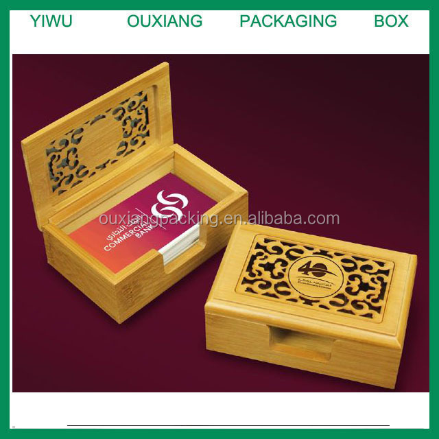 New design solid wood laser engrave cut luxury bamboo business new design solid wood laser engrave cut luxury bamboo business card box reheart Images