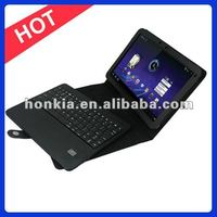 Wireless Keyboard with Leather Case for Motorola Xoom