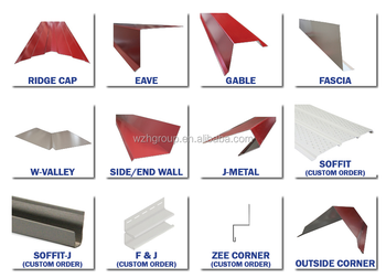 Ppgi Color Coated Corrugated Steel Roof Ridge Cap Steel