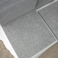 Grey Granite Outdoor paving stone tile flamed surface