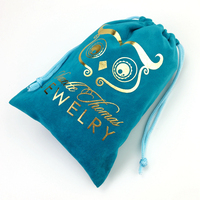 Hot sale Wholesale high quality colorful velvet pouch