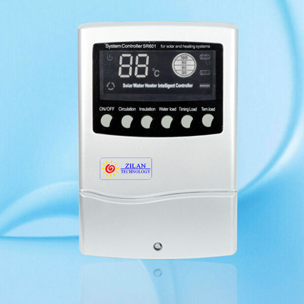 SR601 4 classes water level dispaly Intelligent solar water heater controller for non pressure solar water heaters 110~240V