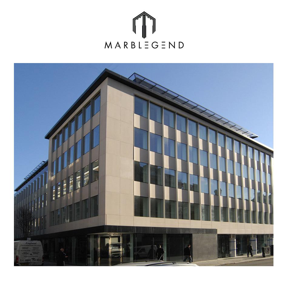 Edificio comercial crema moca piedra caliza fachada azulejo cal identificaci n del producto - Piedra caliza fachada ...